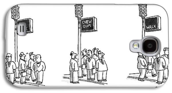 New Yorker September 23rd, 1996 Galaxy S4 Case by Jack Ziegler