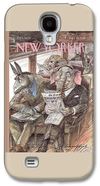 New Yorker September 28th, 1998 Galaxy S4 Case