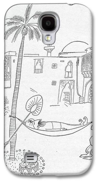 New Yorker September 30th, 1950 Galaxy S4 Case by Saul Steinberg