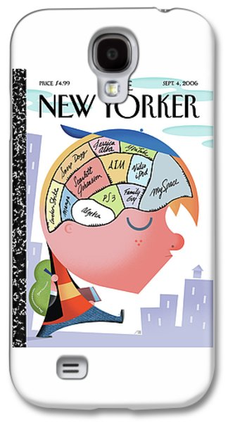 New Yorker September 4th, 2006 Galaxy S4 Case by Bob Staake