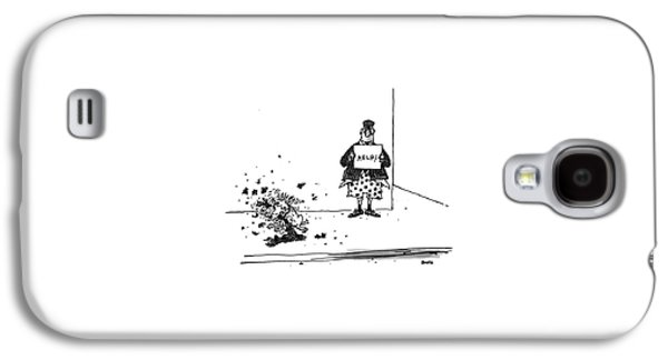 New Yorker September 6th, 1993 Galaxy S4 Case by George Booth