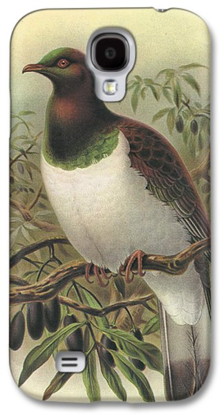 New Zealand Pigeon Galaxy S4 Case by Rob Dreyer