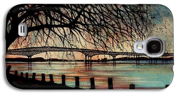 Newburgh Beacon Bridge Sunset Galaxy S4 Case