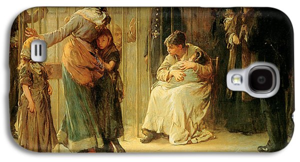 Newgate Committed For Trial, 1878 Galaxy S4 Case by Frank Holl