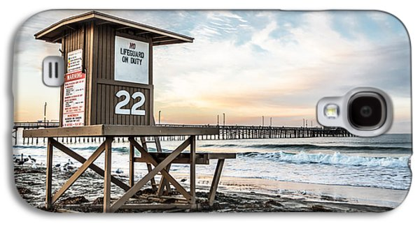 Newport Beach Pier And Lifeguard Tower 22 Photo Galaxy S4 Case