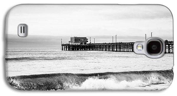 Newport Beach Pier Galaxy S4 Case by Paul Velgos