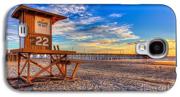 Newport Beach Pier - Wintertime  Galaxy S4 Case