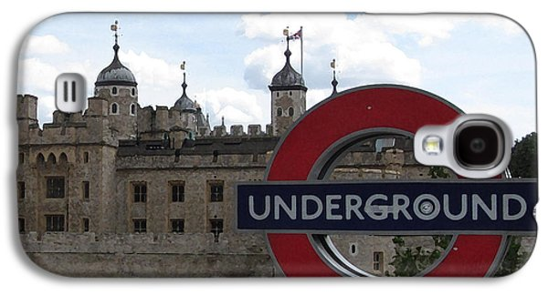 Next Stop Tower Of London Galaxy S4 Case by Jenny Armitage