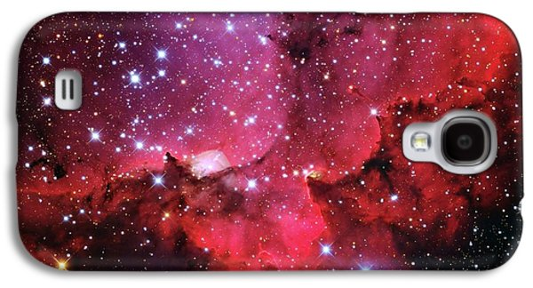 Ngc 7380 Star Cluster Galaxy S4 Case by Adam Block/mount Lemmon Skycenter/university Of Arizona