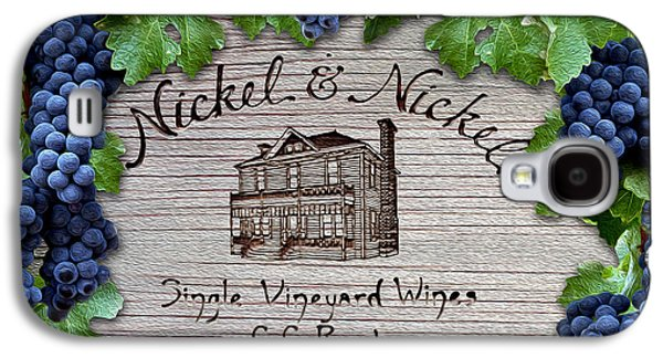 Nickel And Nickel Winery Galaxy S4 Case