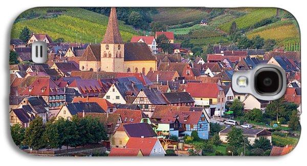Niedermorschwihr, Alsace, France Galaxy S4 Case by Peter Adams