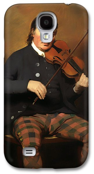 Violin Galaxy S4 Case - Niel Gow - Violinist And Composer by Mountain Dreams