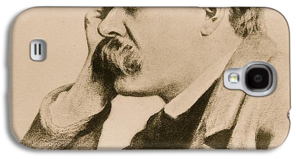 Nietzsche Galaxy S4 Case by Anonymous