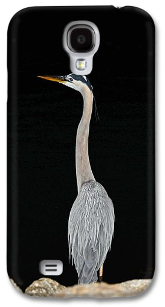 Galaxy S4 Case featuring the photograph Night Of The Blue Heron 3 by Anthony Baatz