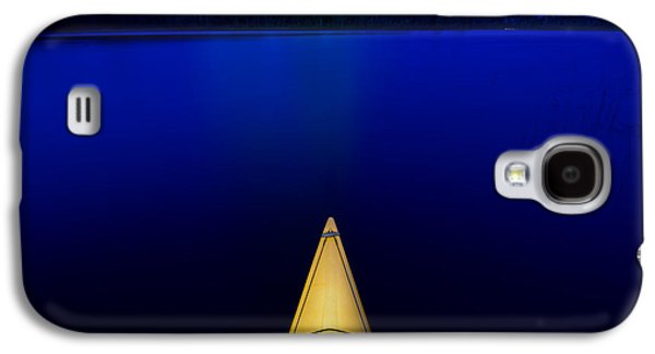Night Paddle Galaxy S4 Case by Steve Gadomski