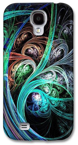 Night Phoenix Galaxy S4 Case by Anastasiya Malakhova