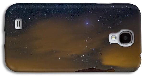 Night Sky Galaxy S4 Case by Beverly Parks