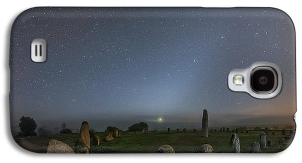 Night Sky Over Stone Circle Galaxy S4 Case by Babak Tafreshi