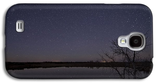 Night Sky Reflection Galaxy S4 Case