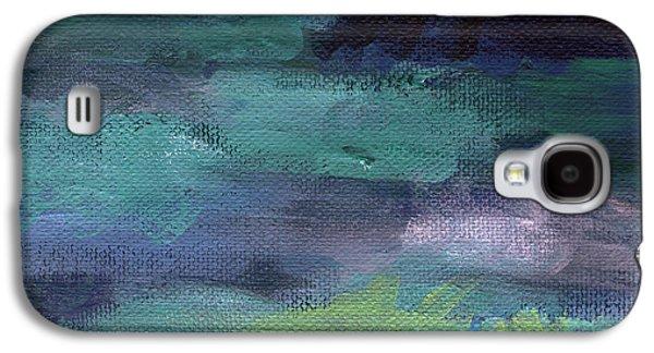 Night Swim- Abstract Art Galaxy S4 Case
