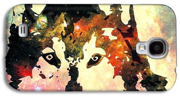 Night Wolf Galaxy S4 Case