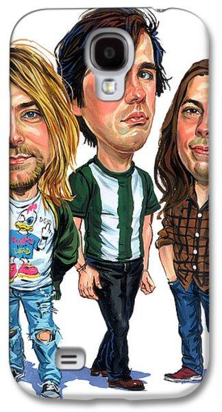 Nirvana Galaxy S4 Case by Art