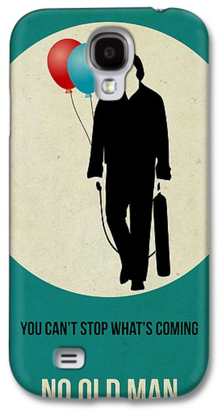 No Country For Old Man Poster 2 Galaxy S4 Case