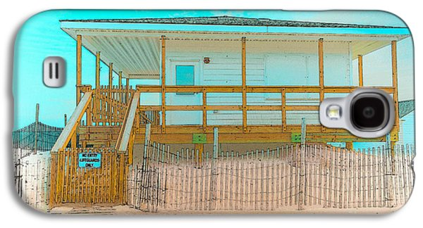 No Entry Lifeguards Only Galaxy S4 Case by Gary Keesler