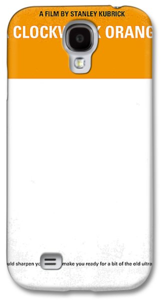Gift Galaxy S4 Case - No002 My A Clockwork Orange Minimal Movie Poster by Chungkong Art