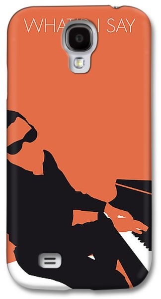 No003 My Ray Charles Minimal Music Poster Galaxy S4 Case
