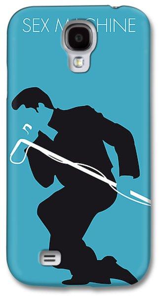 No018 My James Brown Minimal Music Poster Galaxy S4 Case by Chungkong Art