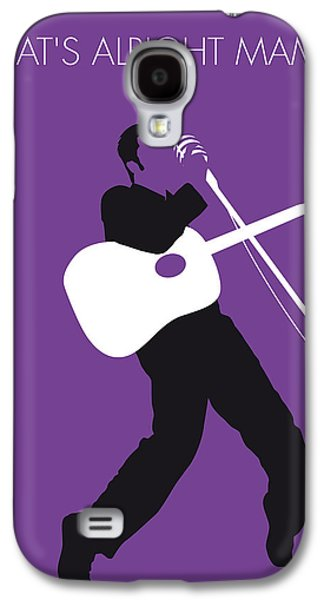 No021 My Elvis Minimal Music Poster Galaxy S4 Case