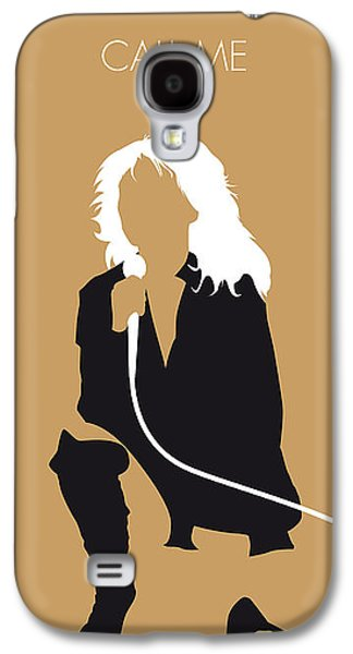 No030 My Blondie Minimal Music Poster Galaxy S4 Case by Chungkong Art