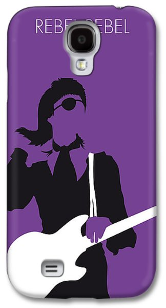 No031 My Bowie Minimal Music Poster Galaxy S4 Case by Chungkong Art