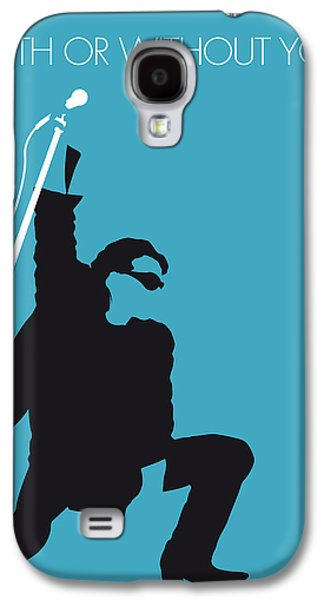 No035 My U2 Minimal Music Poster Galaxy S4 Case by Chungkong Art