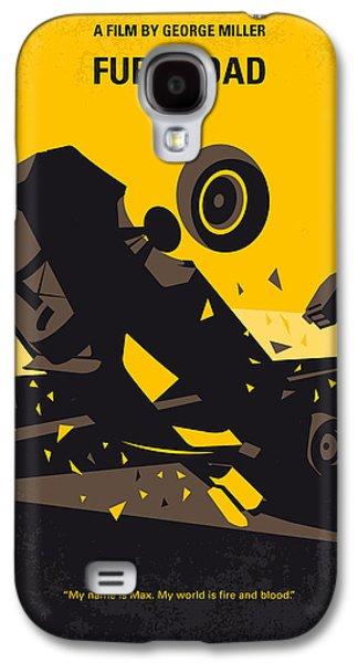 No051 My Mad Max 4 Fury Road Minimal Movie Poster Galaxy S4 Case
