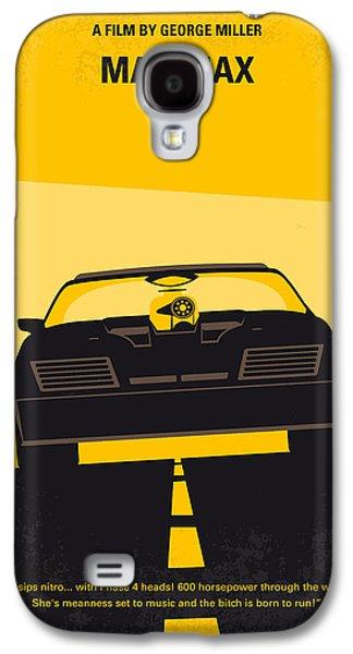 No051 My Mad Max Minimal Movie Poster Galaxy S4 Case