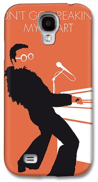 No053 My Elton John Minimal Music Poster Galaxy S4 Case by Chungkong Art