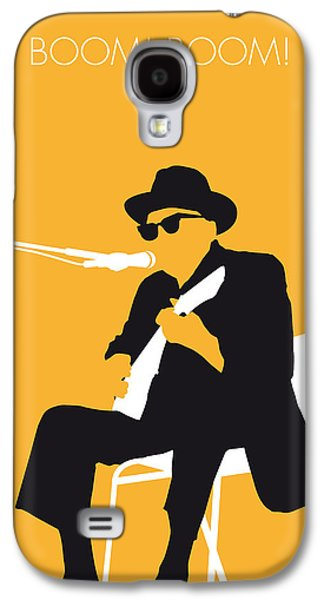 No054 My Johnny Lee Hooker Minimal Music Poster Galaxy S4 Case by Chungkong Art