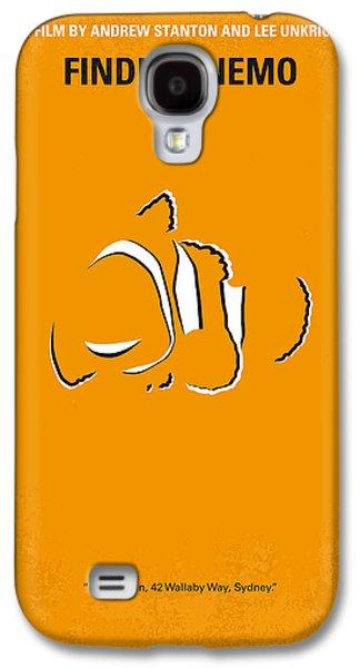 No054 My Nemo Minimal Movie Poster Galaxy S4 Case by Chungkong Art