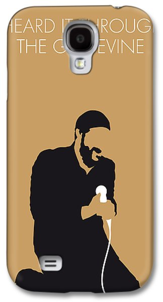 No060 My Marvin Gaye Minimal Music Poster Galaxy S4 Case