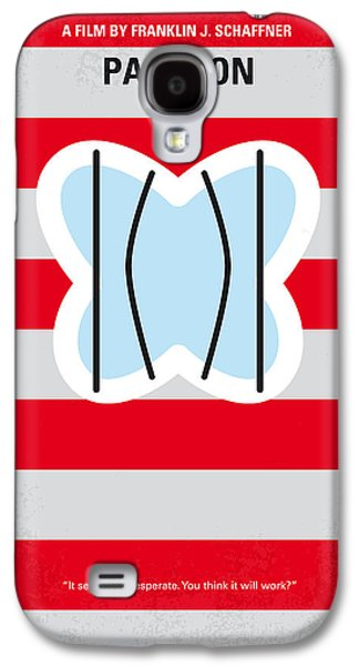 No098 My Papillon Minimal Movie Poster Galaxy S4 Case by Chungkong Art