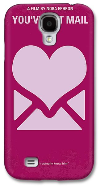 No107 My Youve Got Mail Movie Poster Galaxy S4 Case by Chungkong Art