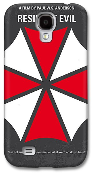 Raccoon Galaxy S4 Case - No119 My Resident Evil Minimal Movie Poster by Chungkong Art