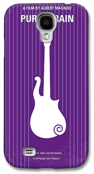No124 My Purple Rain Minimal Movie Poster Galaxy S4 Case by Chungkong Art