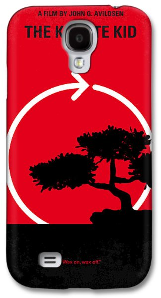 No125 My Karate Kid Minimal Movie Poster Galaxy S4 Case by Chungkong Art