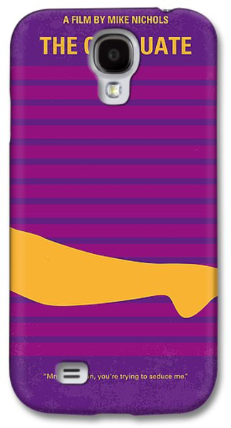 No135 My The Graduate Minimal Movie Poster Galaxy S4 Case by Chungkong Art