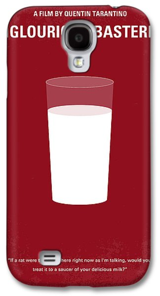 No138 My Inglourious Basterds Minimal Movie Poster Galaxy S4 Case