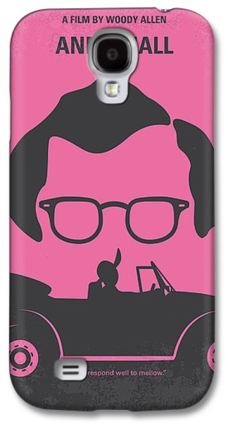 No147 My Annie Hall Minimal Movie Poster Galaxy S4 Case by Chungkong Art