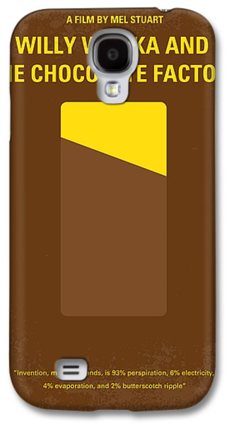 No149 My Willy Wonka And The Chocolate Factory Minimal Movie Poster Galaxy S4 Case by Chungkong Art